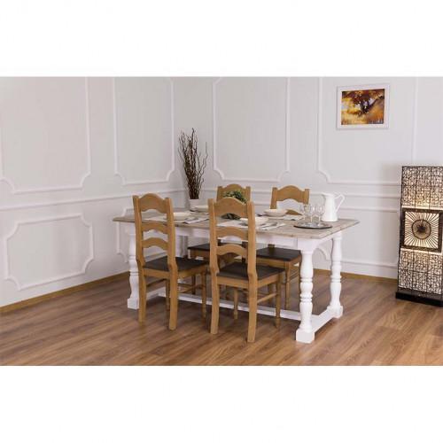 Table à manger ROMANE - 180x90x78cm