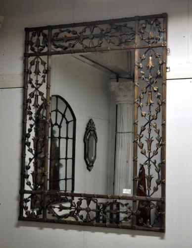 Grand Miroir Loft en métal et résine - 160x205 cm