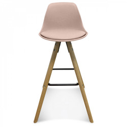 Tabouret de bar Killata - rose pâle