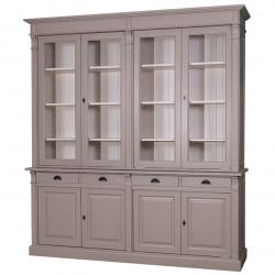 Buffet Vaisselier avec 4 tiroirs et 8 portes | 223x51x240cm
