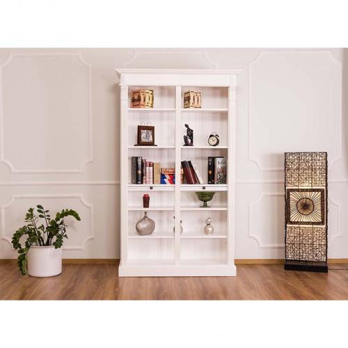 Etagère bibliothèque ouverte ROMANE   119x39x197cm