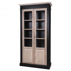 Armoire 2 portes vitrées - ROMANE
