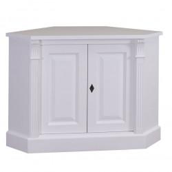 Table de Chevet d'angle ROMANE | 110x52x78cm