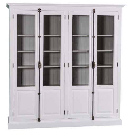 Bibliothèque Vitrine ROMANE - 205x40x210