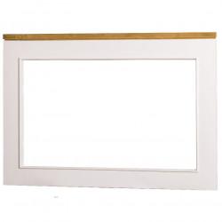 Miroir ROMANE en pin massif - 100x70 cm