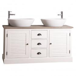 Meuble double vasques de salle de bain