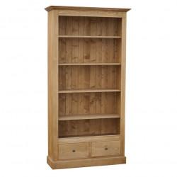 Etagère Bibliothèque ouverte ROMANE - 110x39x210 cm