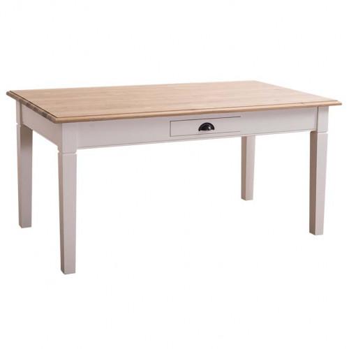 Table à manger ROMANE en bois massif - 210x90x78