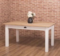 Table de Repas ROMANE en bois massif - 160x90x78