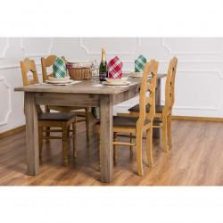 Table de Repas ROMANE en bois massif - 210x90x78