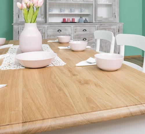 Table de repas ROMANE en bois massif - 180x90x78 cm