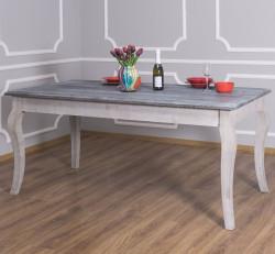 Table de repas ROMANE en bois massif - 210x90x78 cm