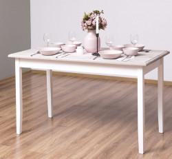 Table ROMANE en bois massif - 140x70x78 cm