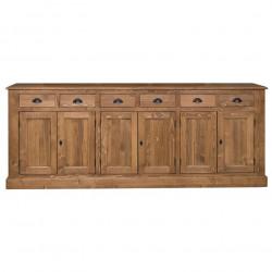 Enfilade ROMANE en bois massif - 239x47x93 cm
