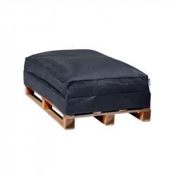 Sofa palette gris anthracite SHELTO