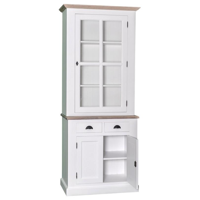 petit vaisselier en pin massif placard et 2 tiroirs demeure et jardin. Black Bedroom Furniture Sets. Home Design Ideas