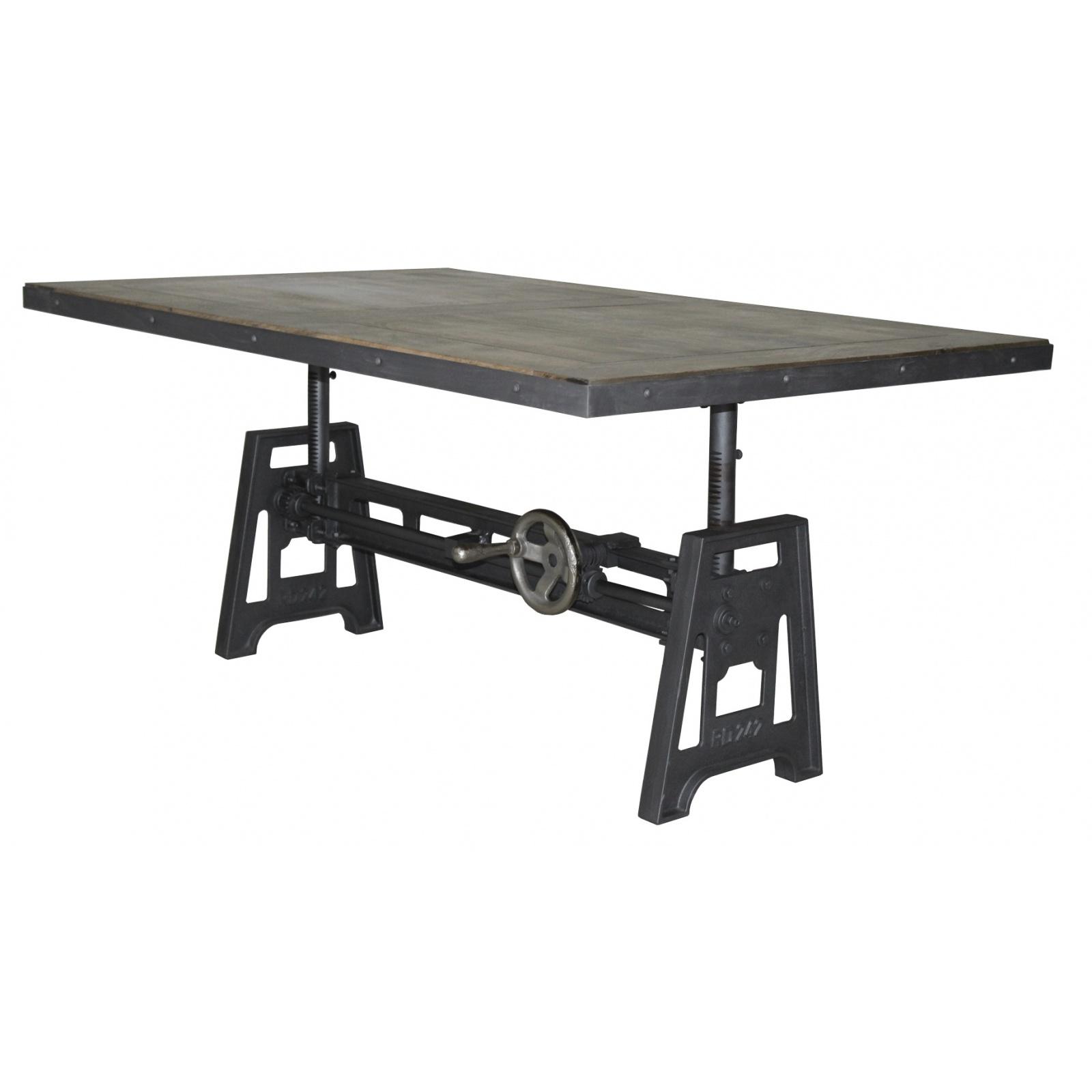 table basse manivelle 140cm demeure et jardin. Black Bedroom Furniture Sets. Home Design Ideas