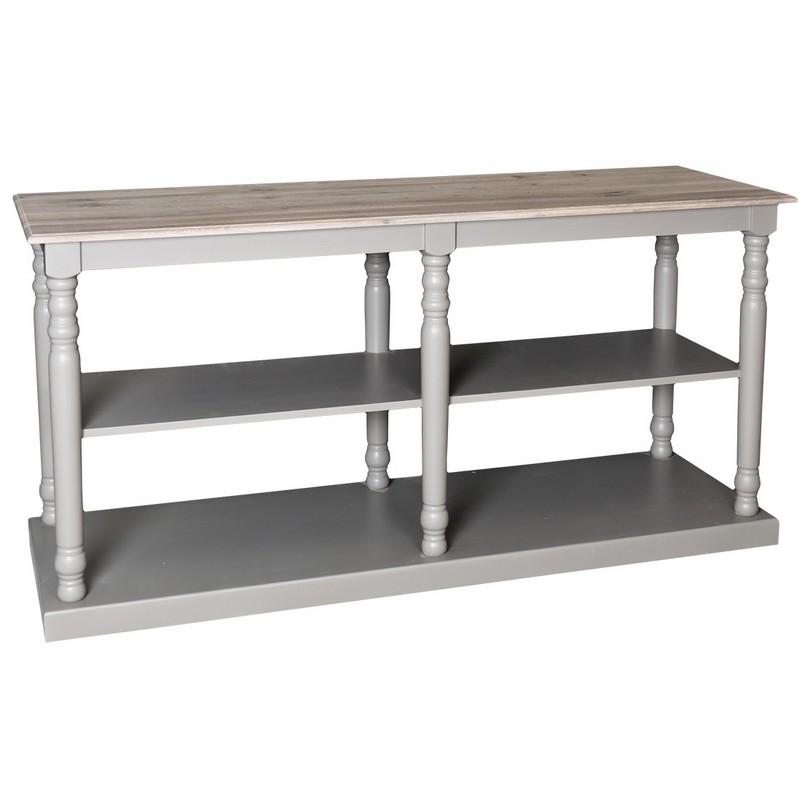 table de mercerie avec plateau en zinc demeure et jardin. Black Bedroom Furniture Sets. Home Design Ideas