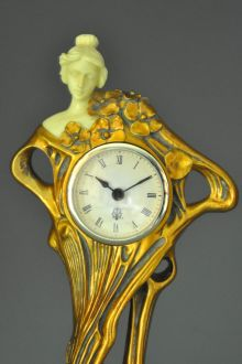 Pendule art nouveau