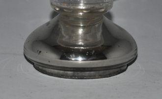 Vase eglomisé