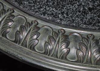 Table plateau de marbre demeure et jardin - Table de jardin plateau en marbre ...