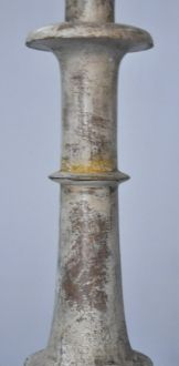 Pic cierge patine blanche