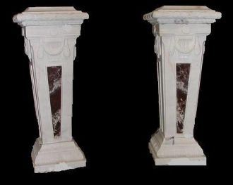 Paire de colonnes