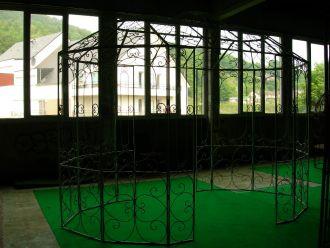 grande gloriette octogonale demeure et jardin. Black Bedroom Furniture Sets. Home Design Ideas