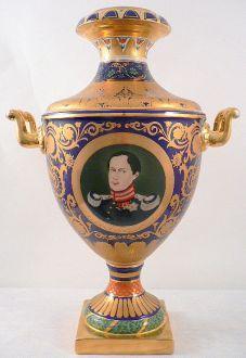 Grand vase décoratif Napoléon