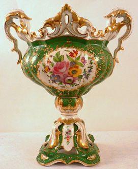 Coupe montée Napoléon III verte