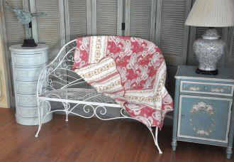 Set de 2 jetés de lit boutis rose