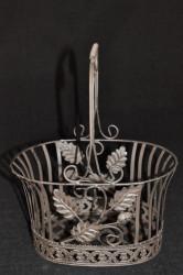 Panier Collection chêne Grand Modèle Rouille