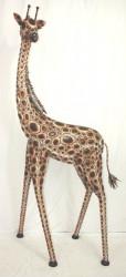 Girafe en Fer Forgé