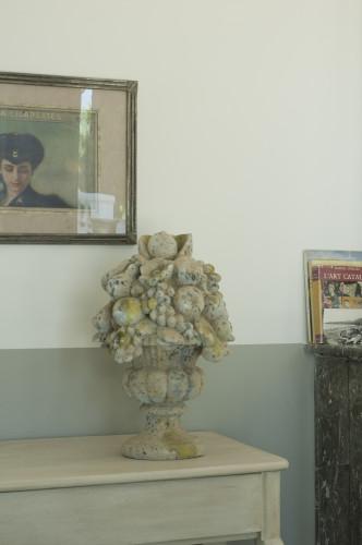 Bouquet Perla en pierre reconstituée - Hauteur 58 cm