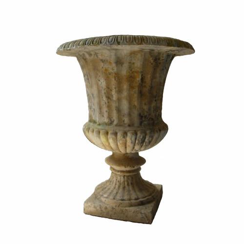 Vase medicis grand modèle en pierre reconstituée - Hauteur 95 cm