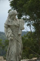 Statue 4 saisons été - Hauteur 150 cm
