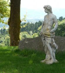 Statue Apollon en pierre reconstituée - Hauteur 140 cm
