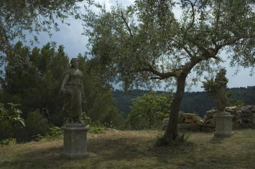 Statue 4 saisons Automne - Hauteur 150 cm