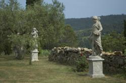 Statue 4 saisons Hiver - Hauteur 150 cm