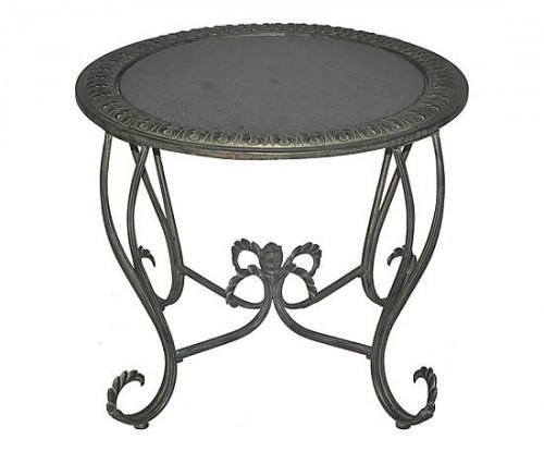 table plateau de marbre demeure et jardin. Black Bedroom Furniture Sets. Home Design Ideas