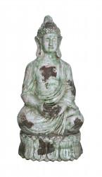 Statue de Bouddha en terre cuite d'extérieur