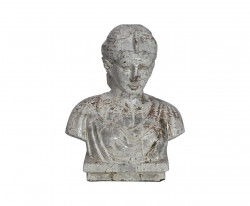 Buste femme Romaine en terre cuite