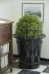 Vase Art Déco émaillé - Hauteur 70cm
