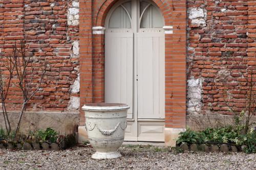 Vase Roi Soleil avec guirlande - Hauteur 65cm
