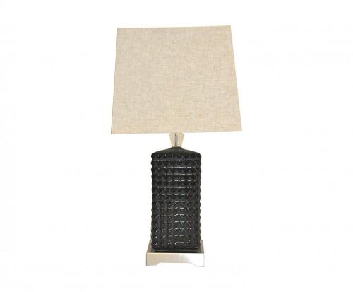 Lampe Design à Picots Noirs Mat
