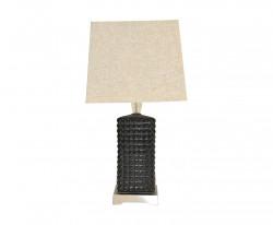 Lampe de salon Design à Picots Noirs Mat