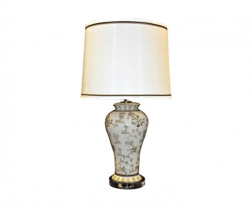 Lampe de style Chinoise Beige