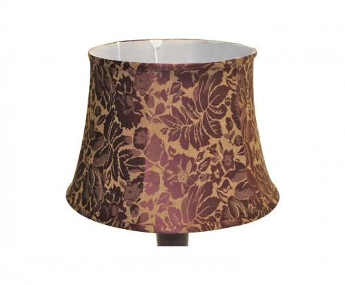 Lampe de salon bordeaux Aubergine ceramique