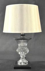 Lampe design de salon style Médicis en verre