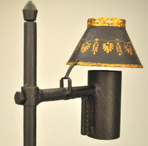Lampe de bureau tole peinte